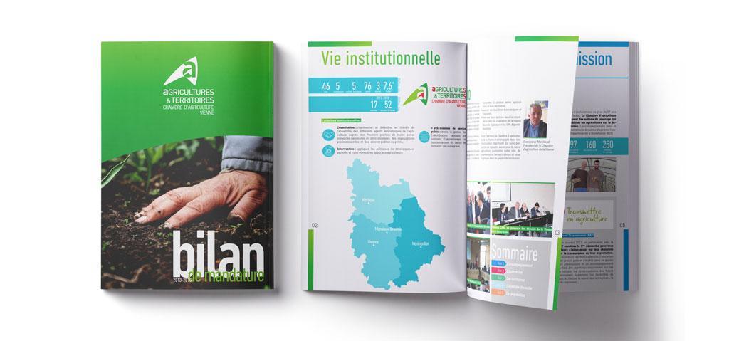 Bilan de mandature - Chambre d'agriculture de la Vienne