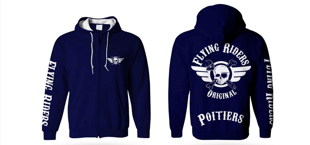 hoodies Flying Riders