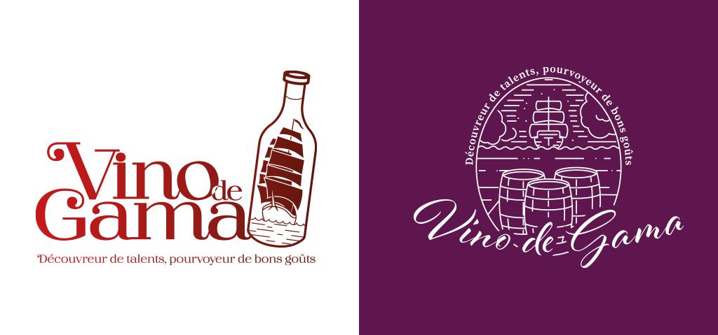 """logos """"Vino de Gama"""" refusés"""