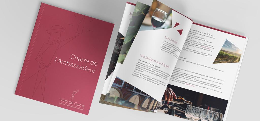 Charte Ambassadeur pour l'entreprise Vino de Gama
